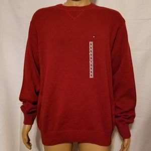 Nwt 2002 tommy Hilfiger Crewneck sweater large